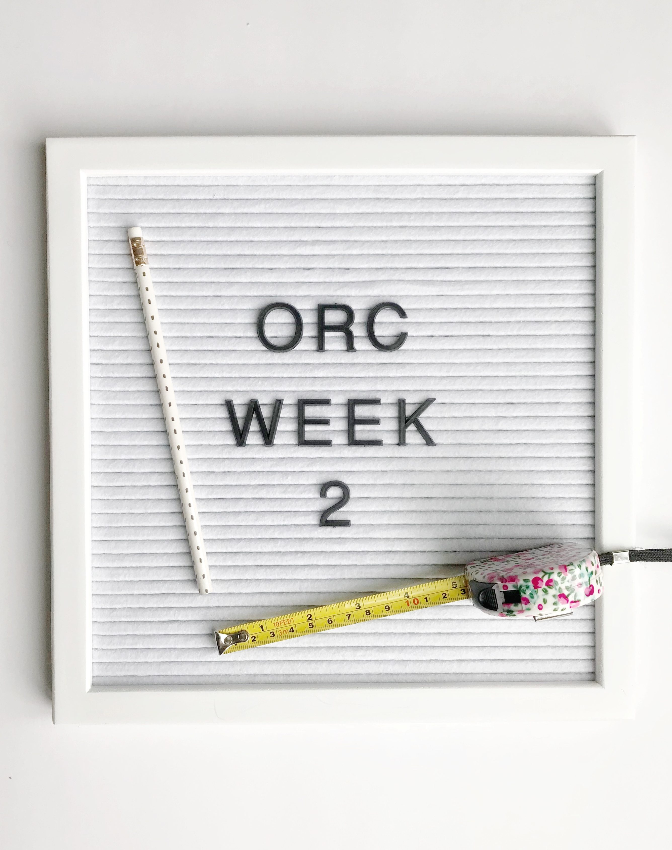 ORC Week 2: How to Hang Cabinets