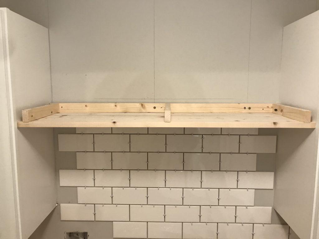 orc week 4 diy floating shelf subway tile
