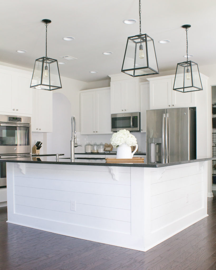 - Easy + Affordable DIY Kitchen Island Shiplap - Home And Hallow