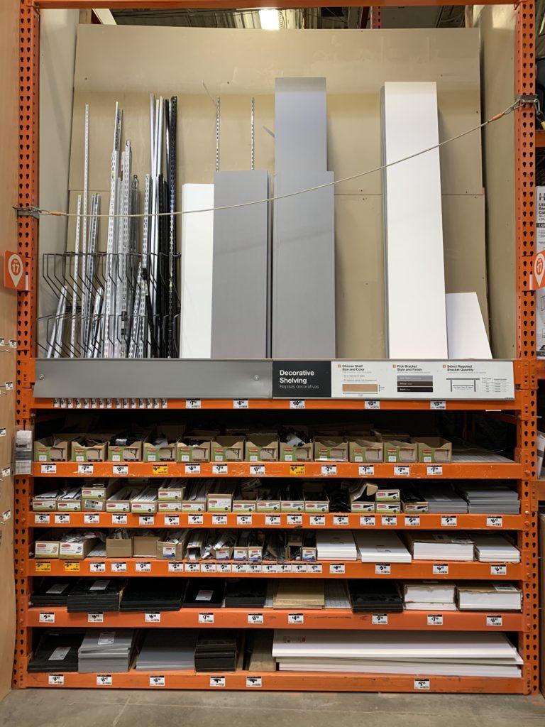 supplies needed for DIY custom closet