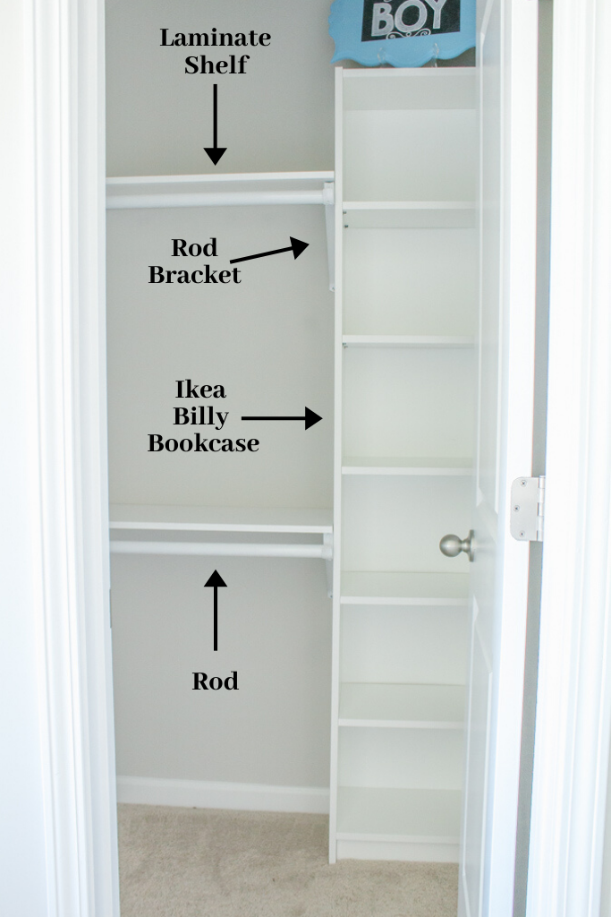 Picture of: Easy Diy Custom Closet Budget Ikea Hack Home And Hallow